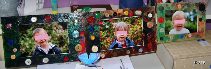 Super Le cadre bouton | nounou assistante maternelle à marignane Nounoulau LG01