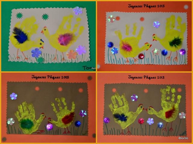 Poussins De Pâques Nounou Assistante Maternelle à Marignane Nounoulau